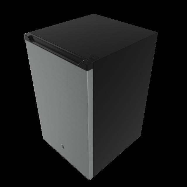 GE 4.4-cu ft Freestanding Mini Fridge Freezer Comp