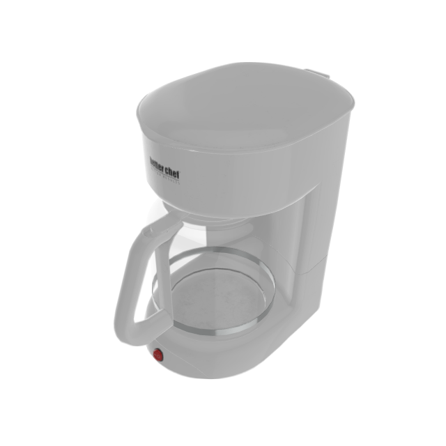 Better Chef 12-Cup White Coffee Maker